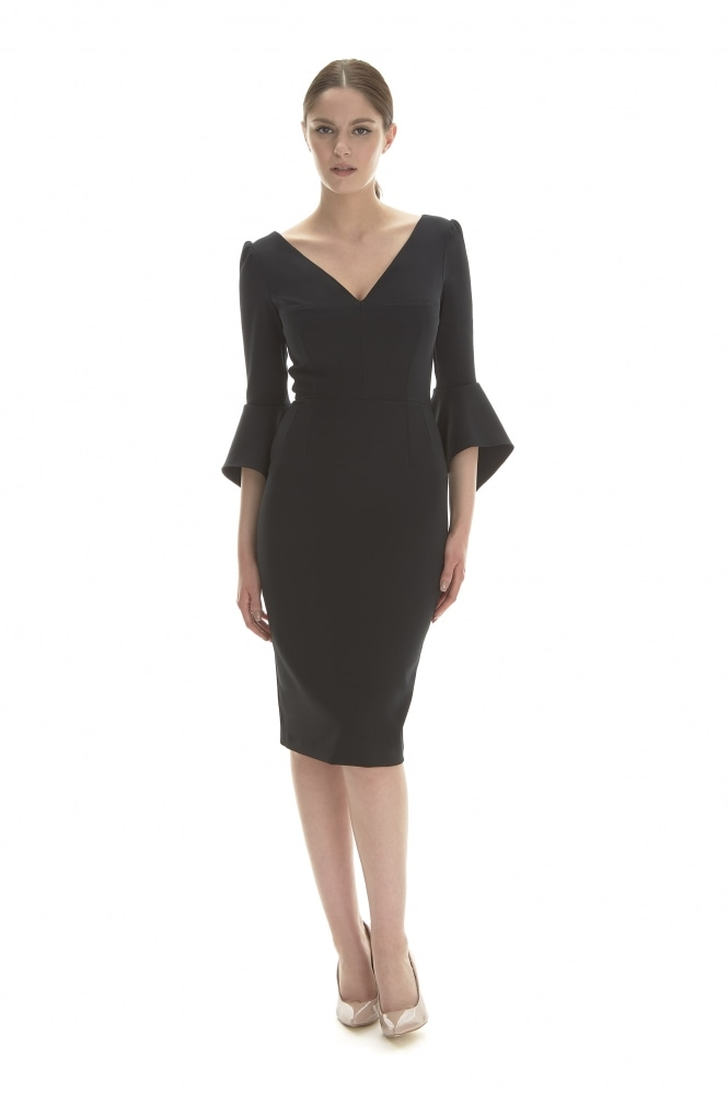 The Pretty Dress Company Alexa Luxe Crepe Pencil Dress