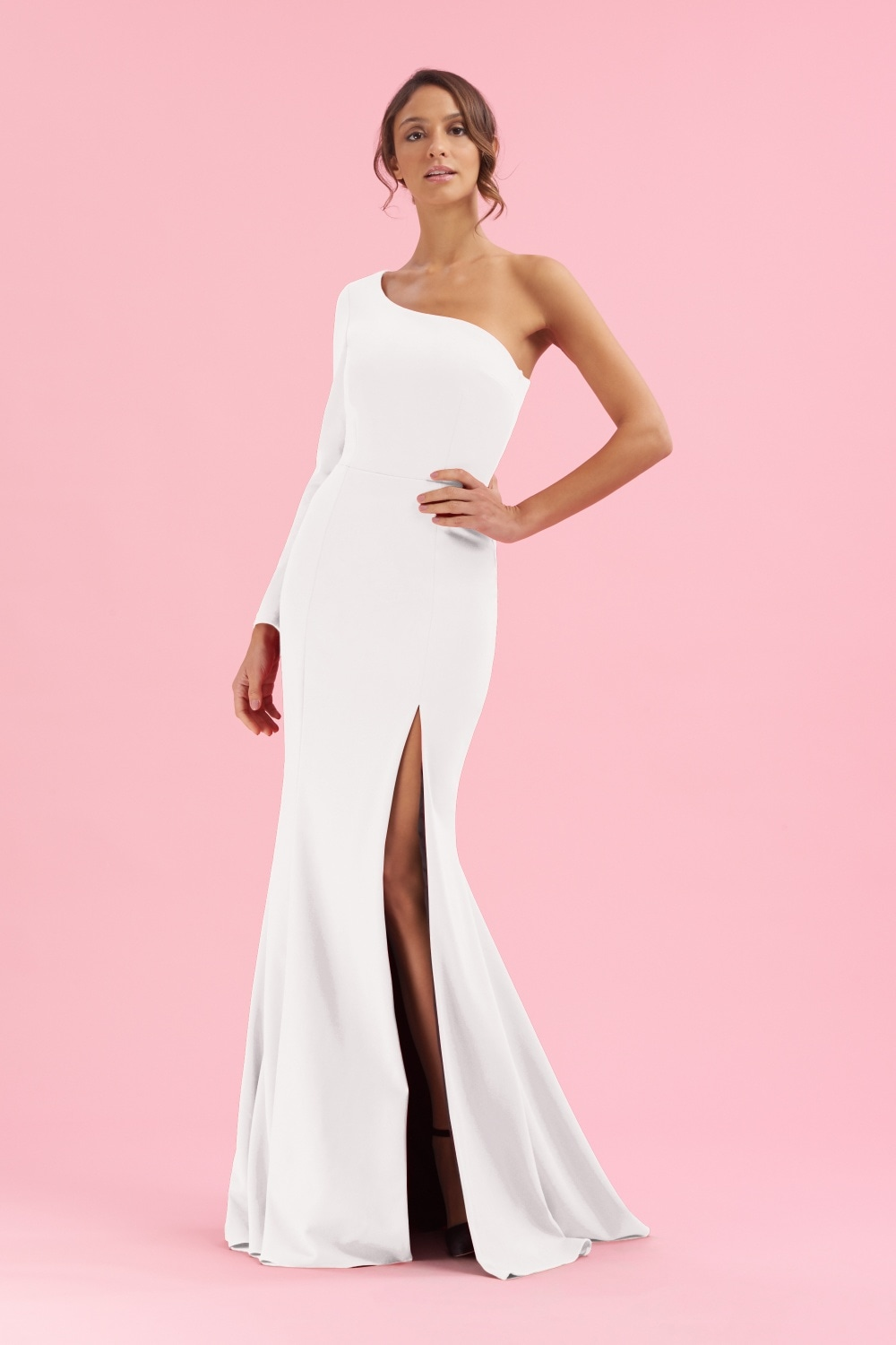 0349cd40ae6 The Pretty Dress Company Biarritz One Shoulder Gown