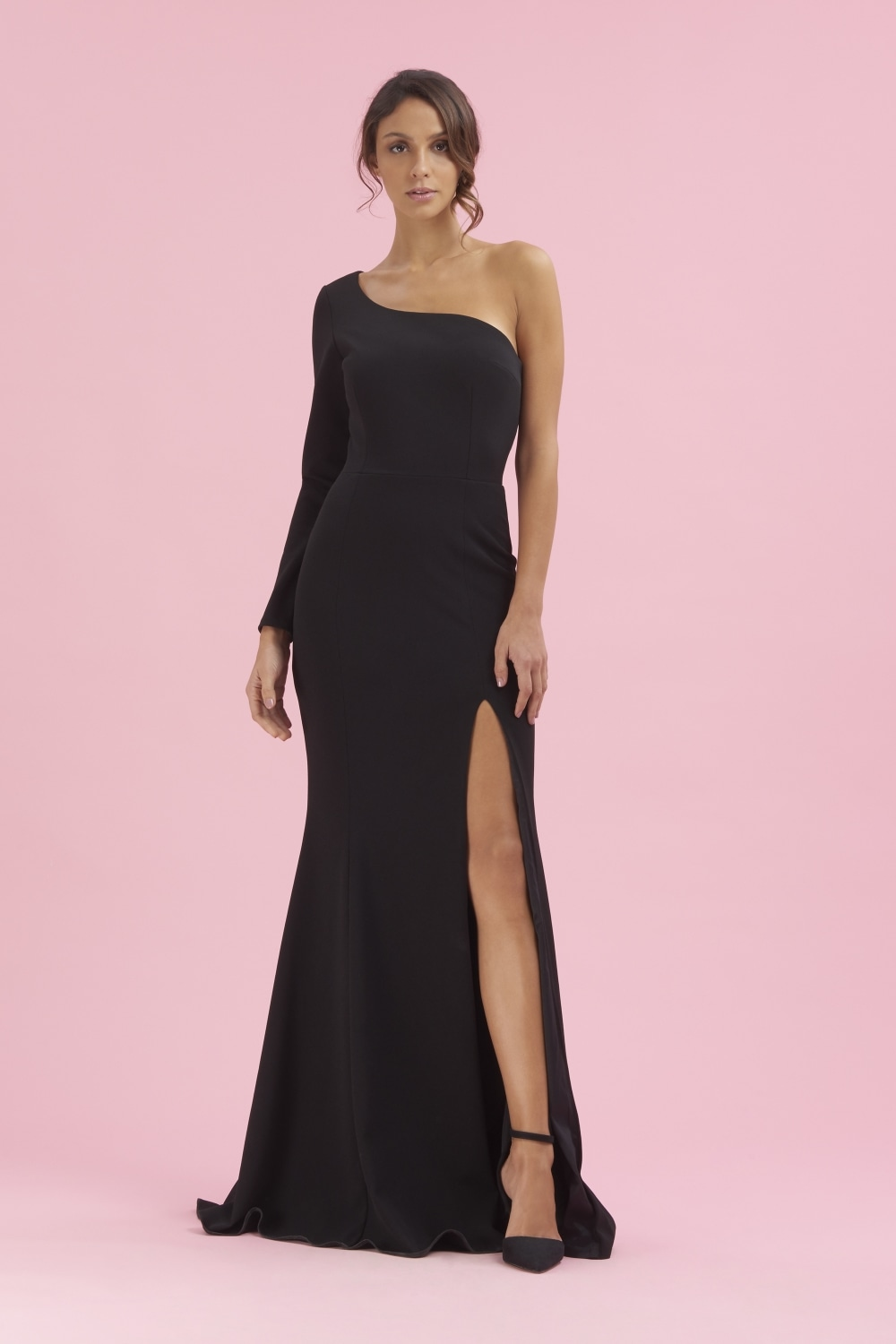 The Pretty Dress Company Biarritz One Shoulder Gown