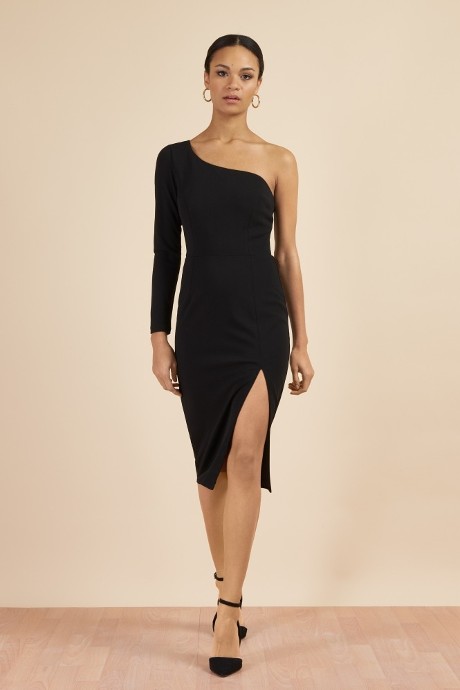 The Pretty Dress Company Biarritz One Shoulder Pencil Dress