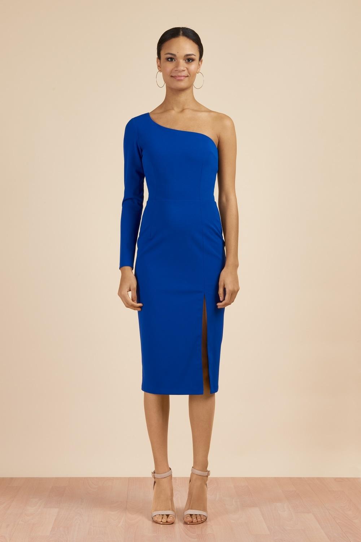 197a8d9b426 Dresses: Biarritz One Shoulder Pencil Dress