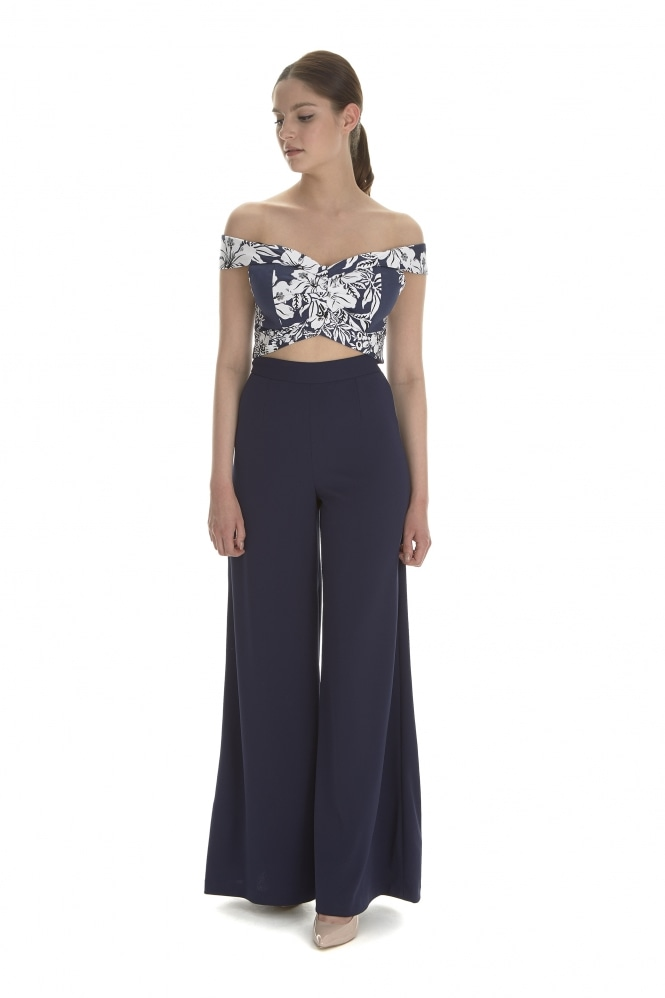 The Pretty Dress Company Classic Wide Leg Trousers