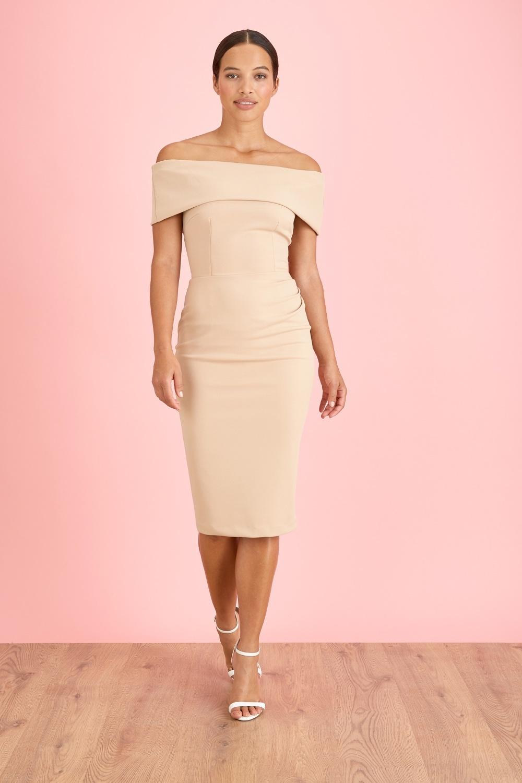 Dresses Dani Bardot Pencil Dress