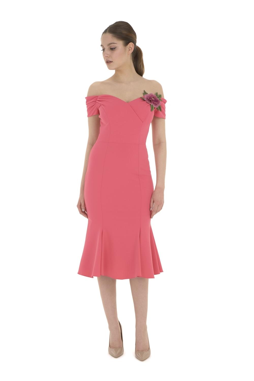 Fatale 1940\'s Flare Skirt Dress