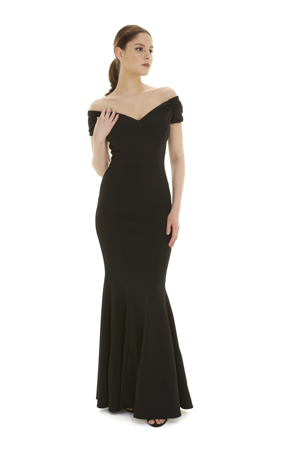Fatale Fishtail Gown from The Pretty Dress Company