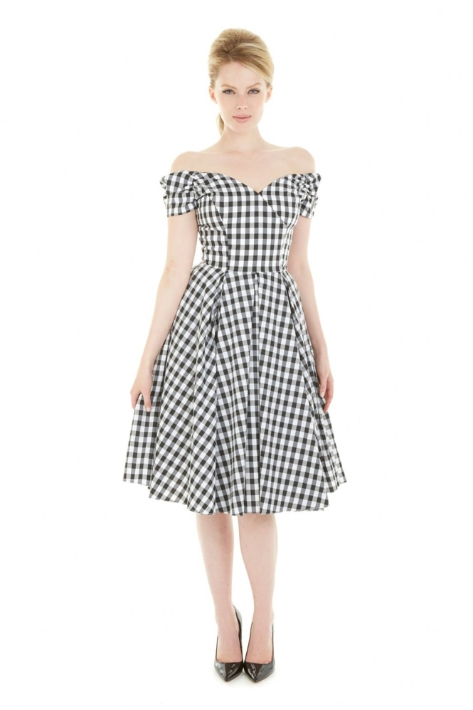 The Pretty Dress Company Fatale Gingham Prom Dress