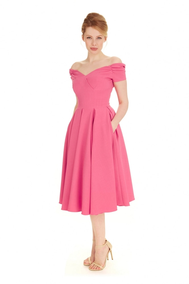 The Pretty Dress Company Fatale Luxe Crepe Prom Dress