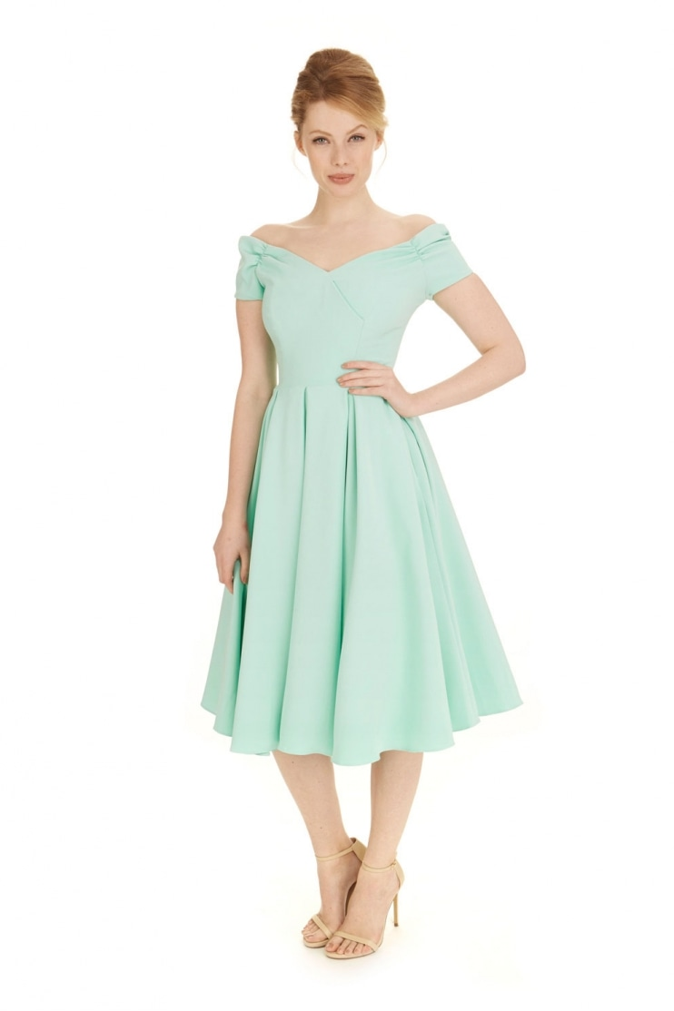 Fatale Luxe Crepe Prom Dress
