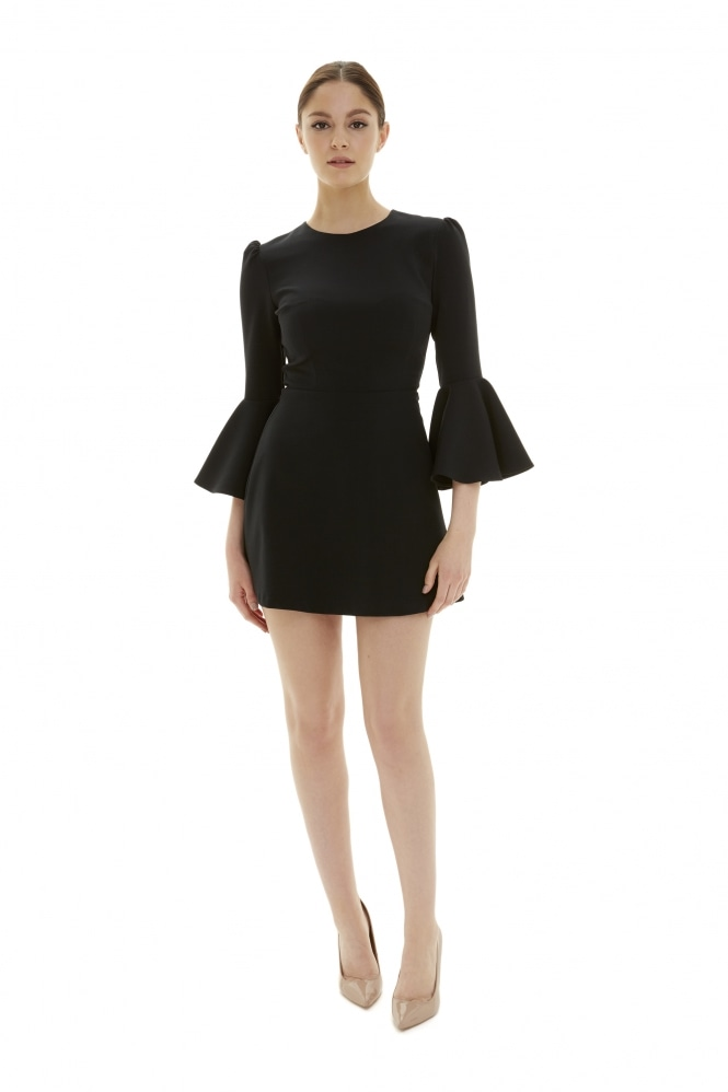 The Pretty Dress Company Gia Black Mini Dress