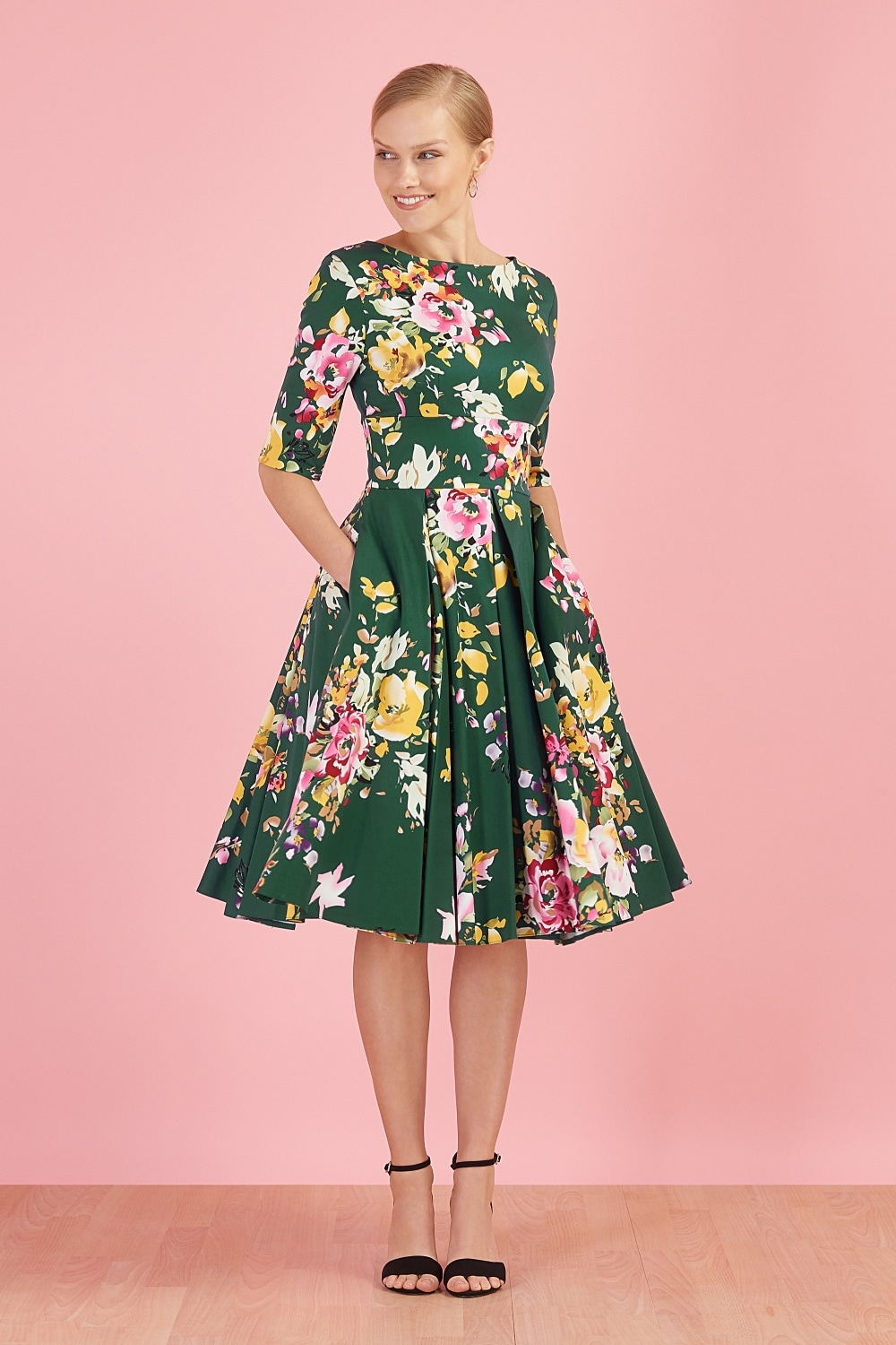 29f1e80dd7a4 Dresses  Hepburn in Forest Green Seville