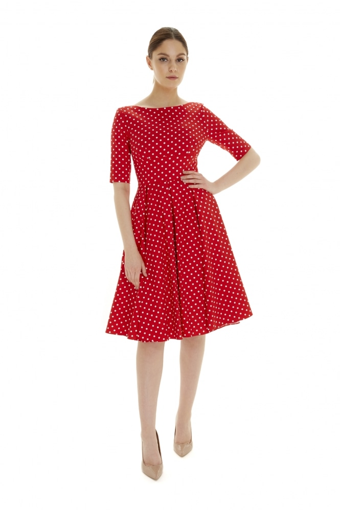 The Pretty Dress Company Hepburn in Polka Dot