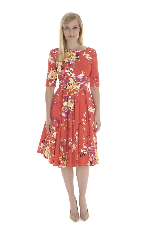 fca5f18ff9 The Pretty Dress Company Hepburn Seville Print Dress