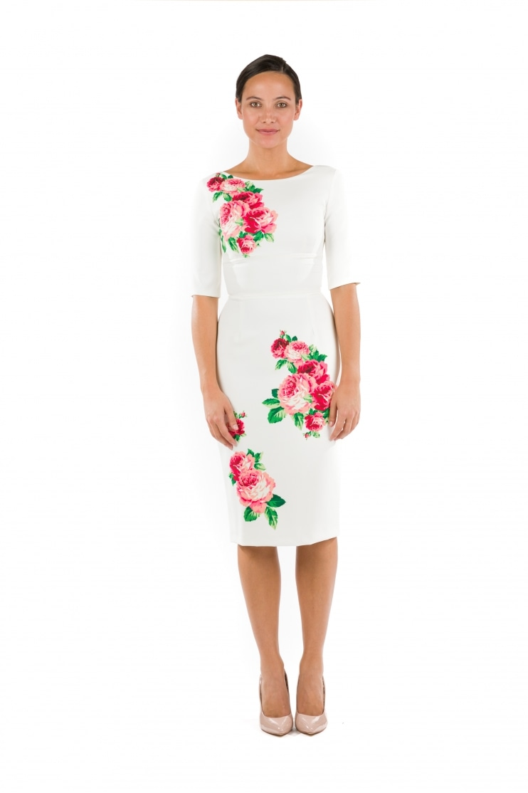 Hepburn Lamour Pencil Dress