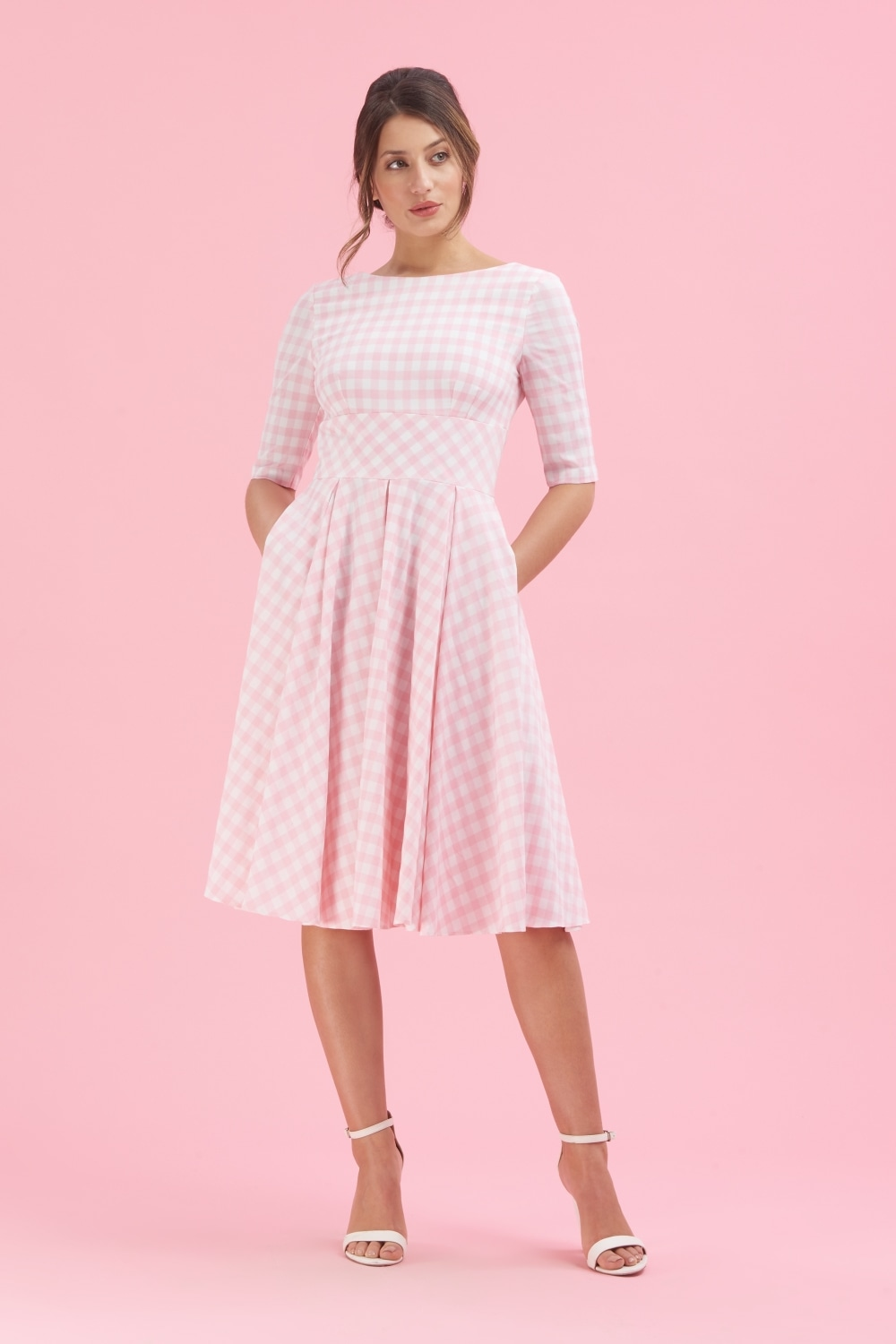 Pink Pretty dress pictures catalog photo