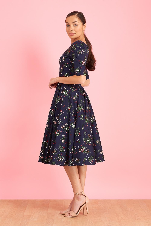 476c1bcacb0 Dresses  Hepburn Valencia Swing Dress
