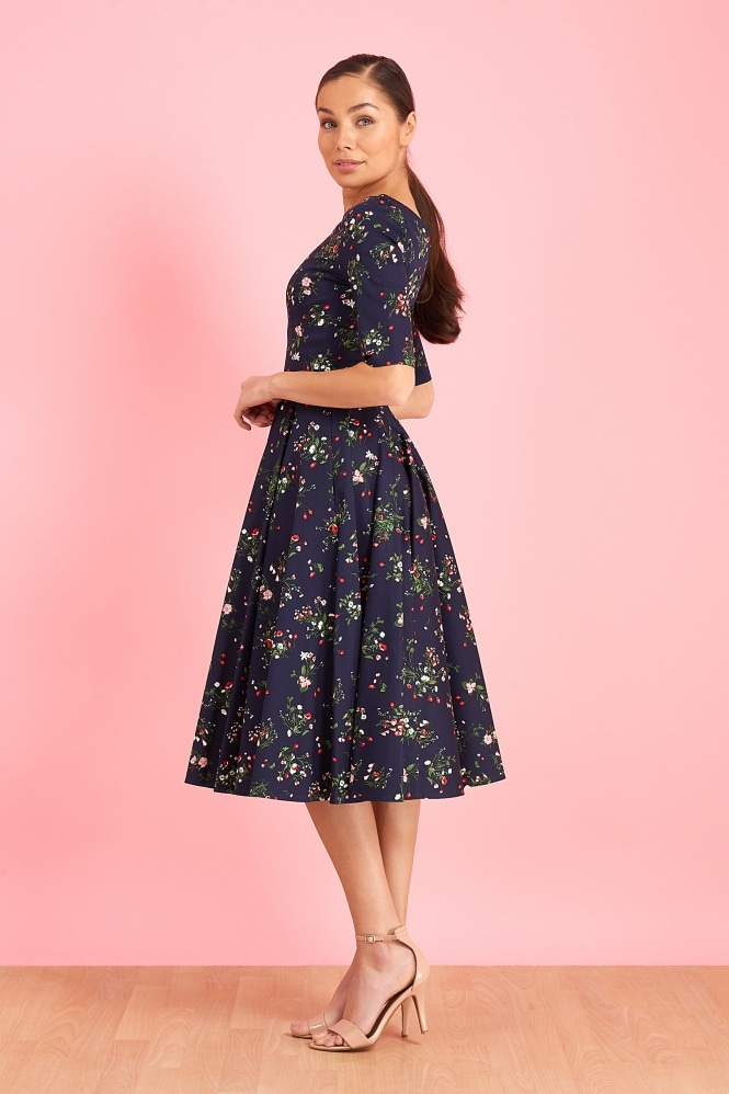 The Pretty Dress Company Hepburn Valencia Swing Dress