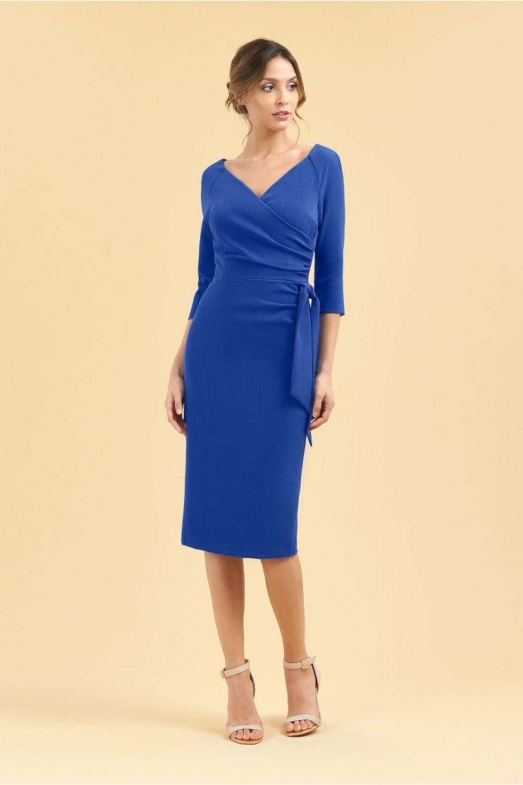 bf59d3b1fc0a Hourglass 3 4 Sleeve Pencil Dress - End of line
