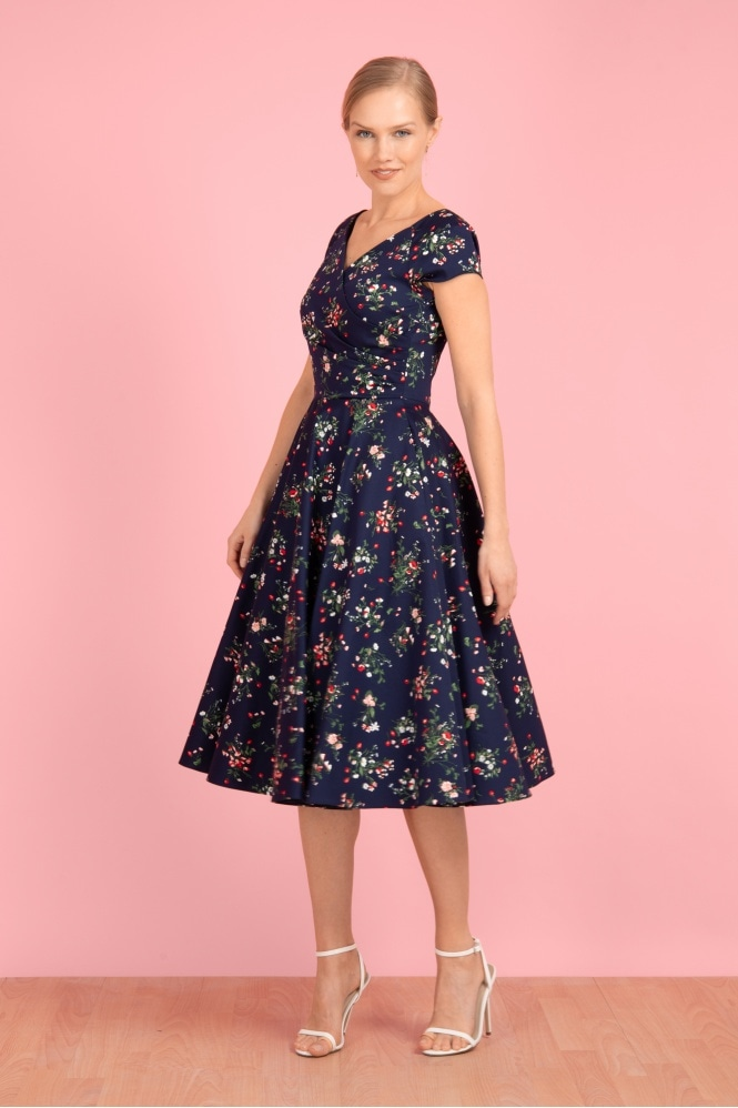 The Pretty Dress Company Hourglass Valencia Swing Dress