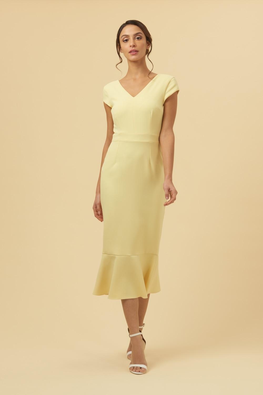4db6abff811c The Pretty Dress Company Katja Cap Sleeve Midi Dress