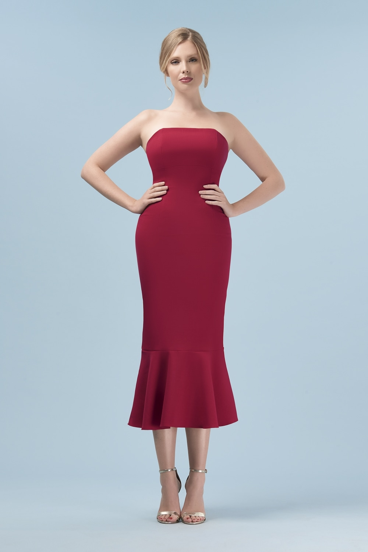 Kim Bandeau Midi Dress
