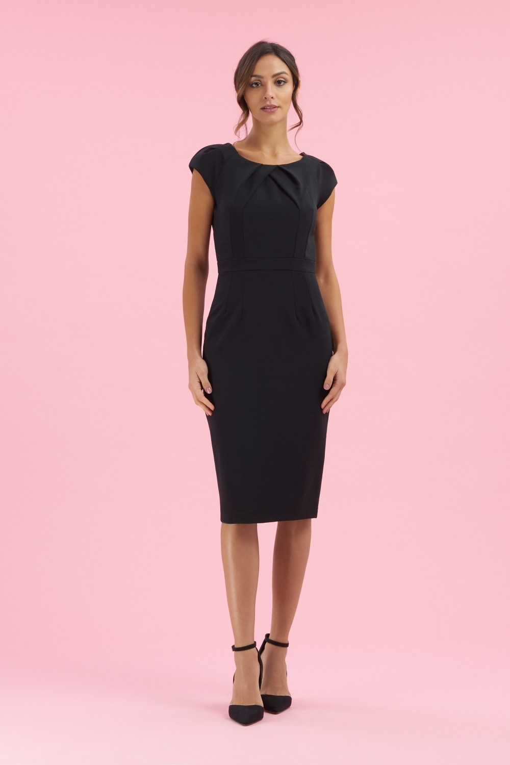 The Pretty Dress Company Layla Cap Sleeve Pencil Dress
