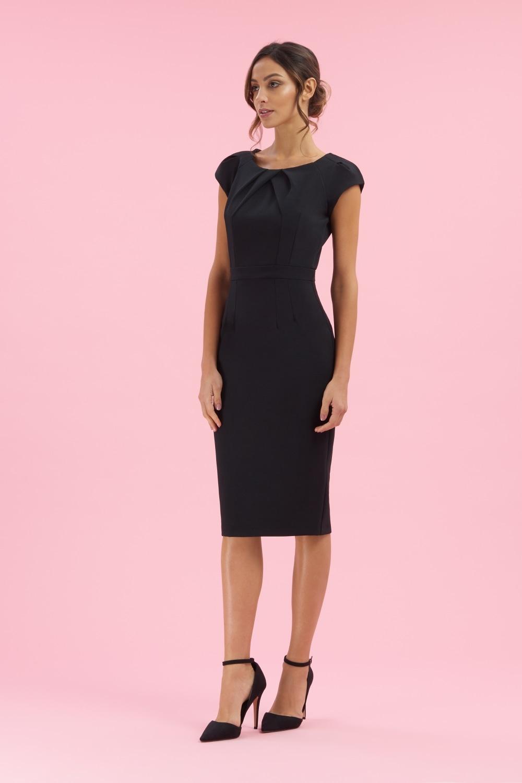 00a67ceee2 The Pretty Dress Company Layla Cap Sleeve Pencil Dress