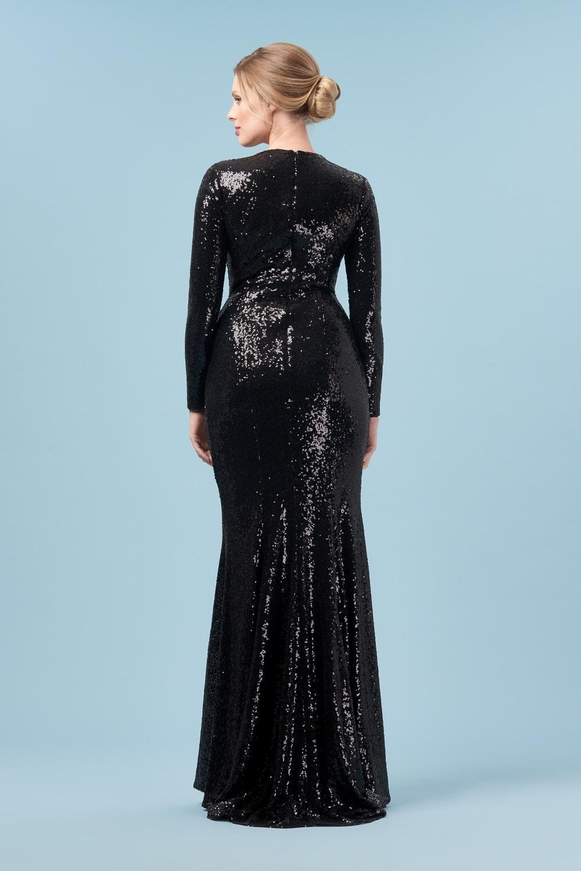 Moritz Sequin Gown