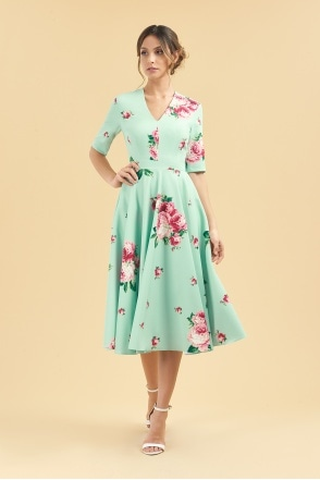 961652e40b5 The Pretty Dress Company Tilly Off The Shoulder Bow Pencil Dress