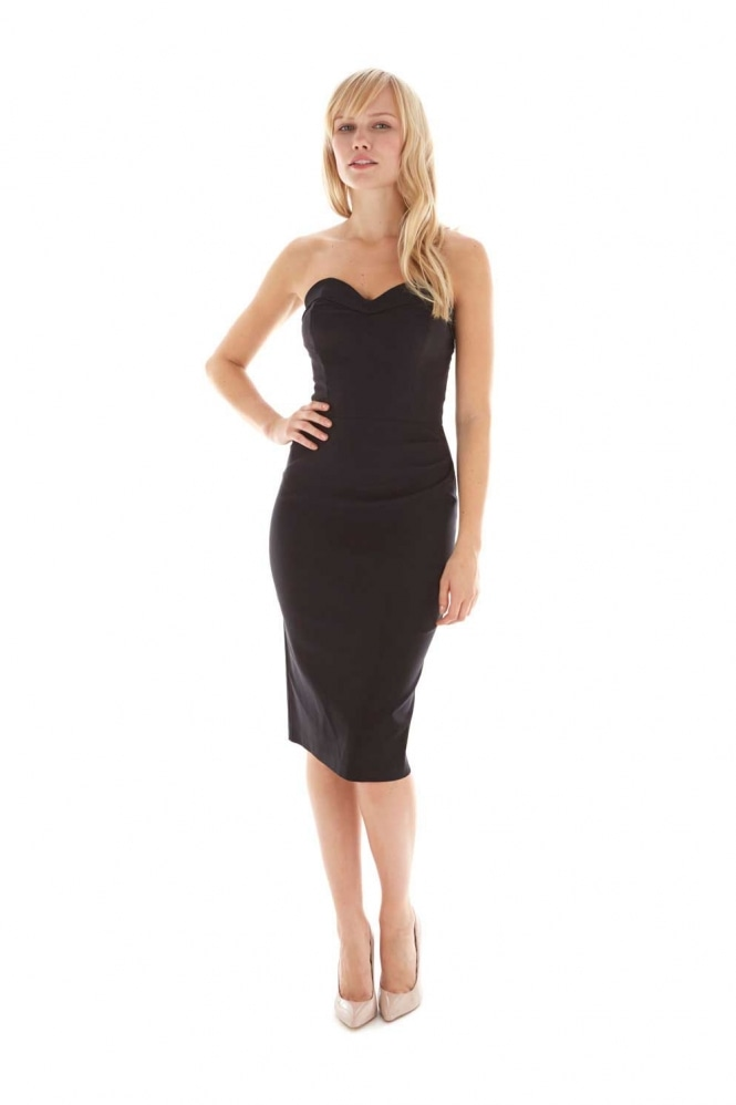 The Pretty Dress Company Palm Springs Strapless Wiggle Dress