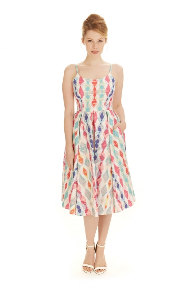 The Pretty Dress Company Priscilla Miami Midi Dress