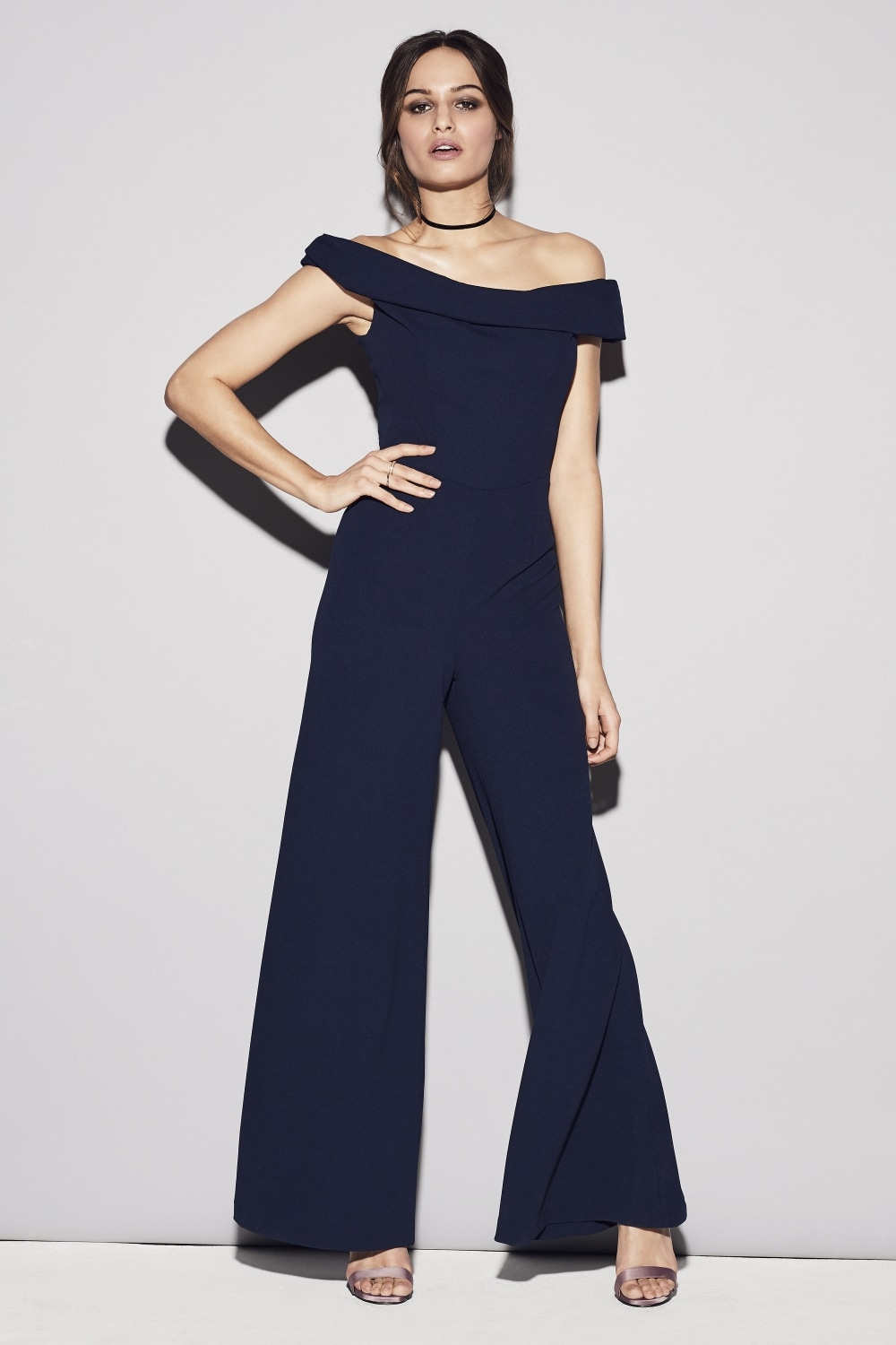 48a26df3f3 The Pretty Dress Company Thea French Crepe Jumpsuit