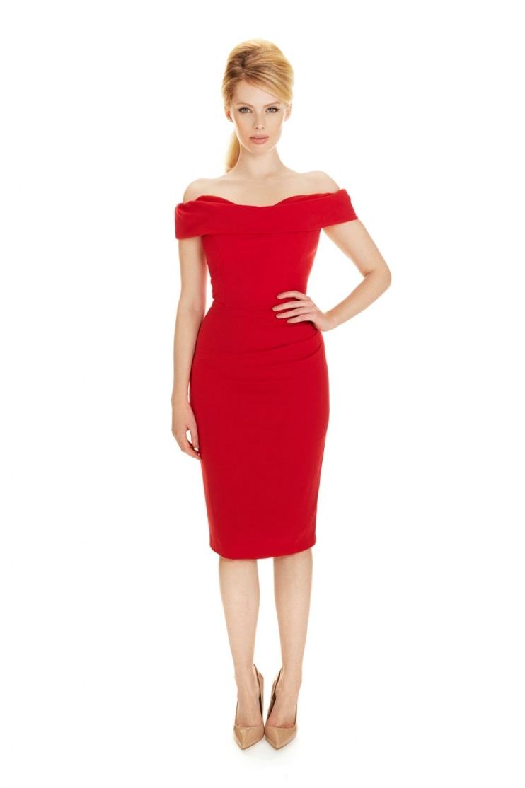 Red The Pretty Dress Company Dresses
