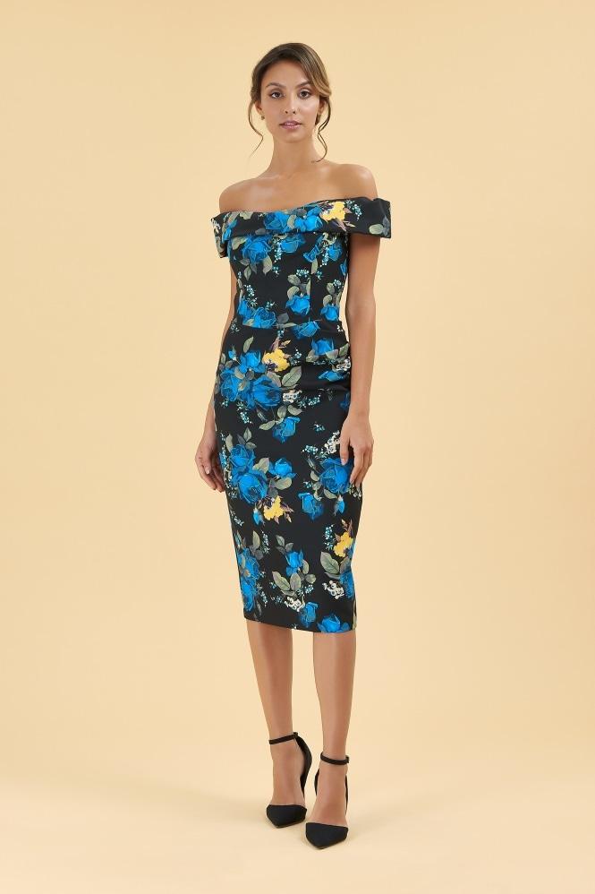 266e4ad8d2 Dresses  Thea Portland Floral Pencil Dress